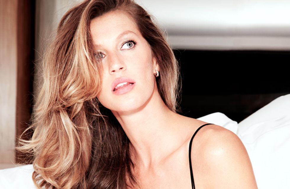 Gisele Bündchen : So sexy pour sa collection de lingerie (photos)
