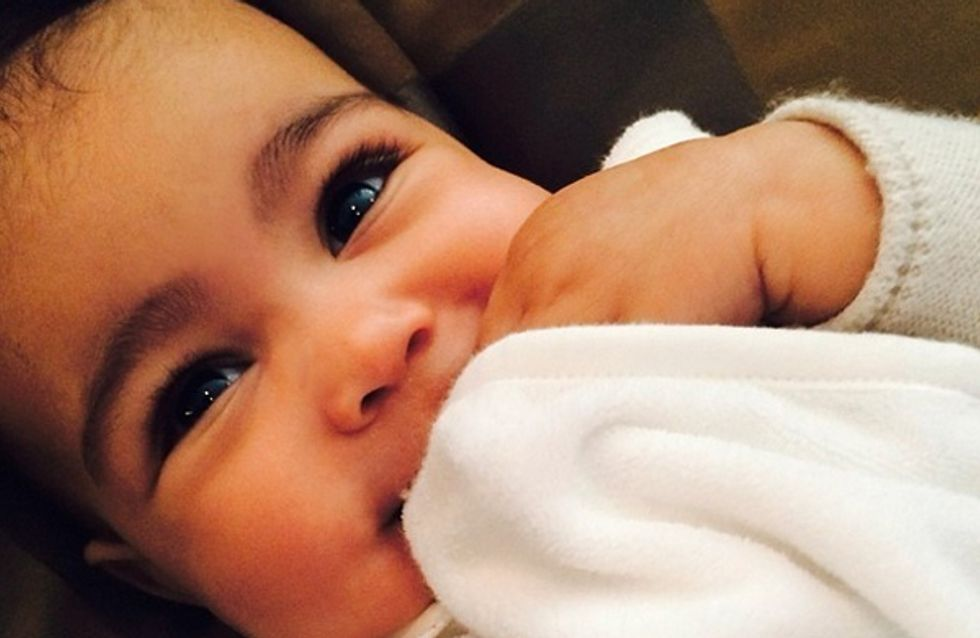 Kim Kardashian shares adorable snap of giggling baby daughter Nori