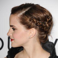 Emma Watson : Comment réaliser son chignon tressé ? (Tutoriel)