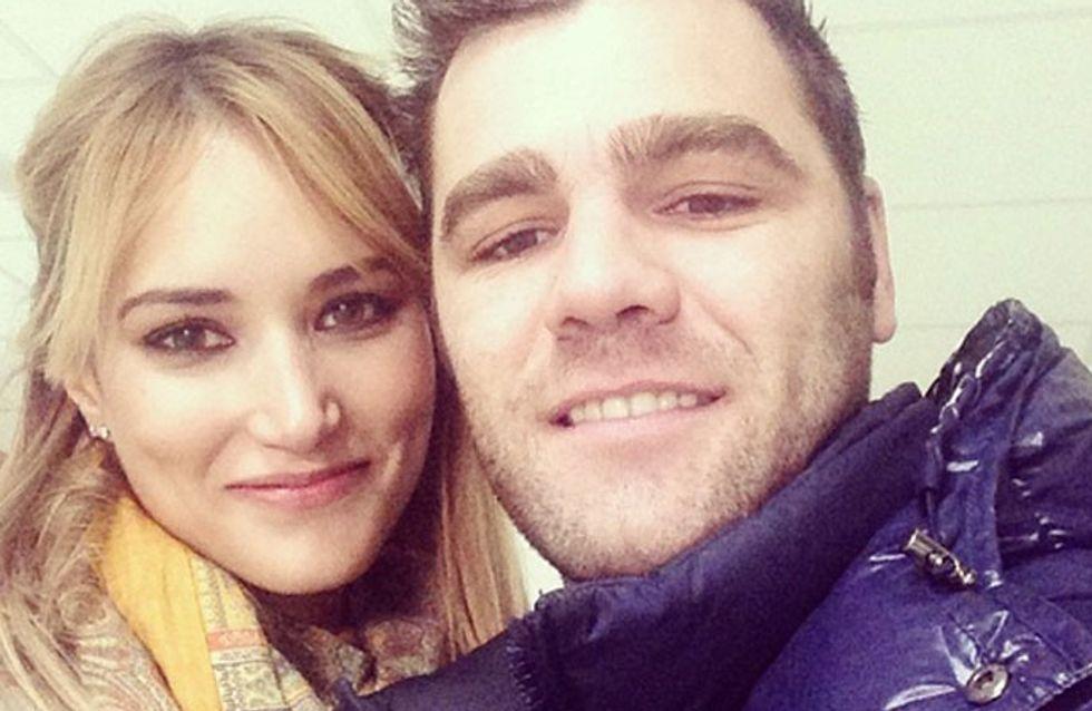 Fonsi Nieto y Alba Carrilo entierran el hacha de guerra por Navidad