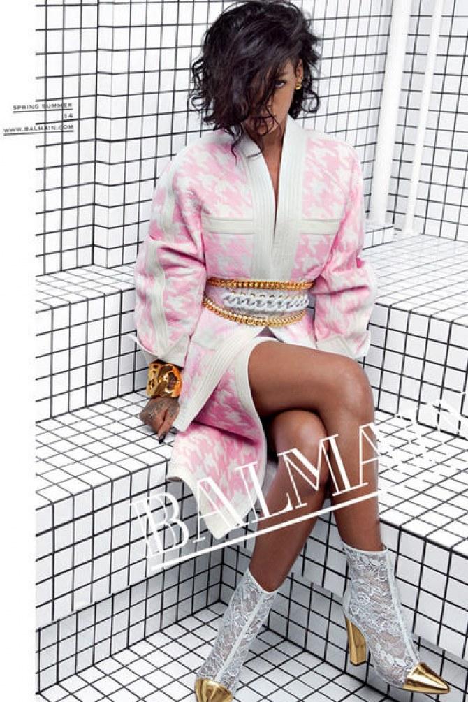 Rihanna égérie Balmain