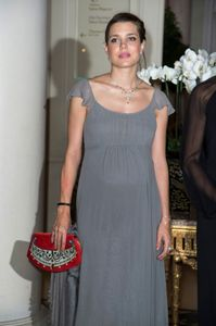 Charlotte Casiraghi enceinte