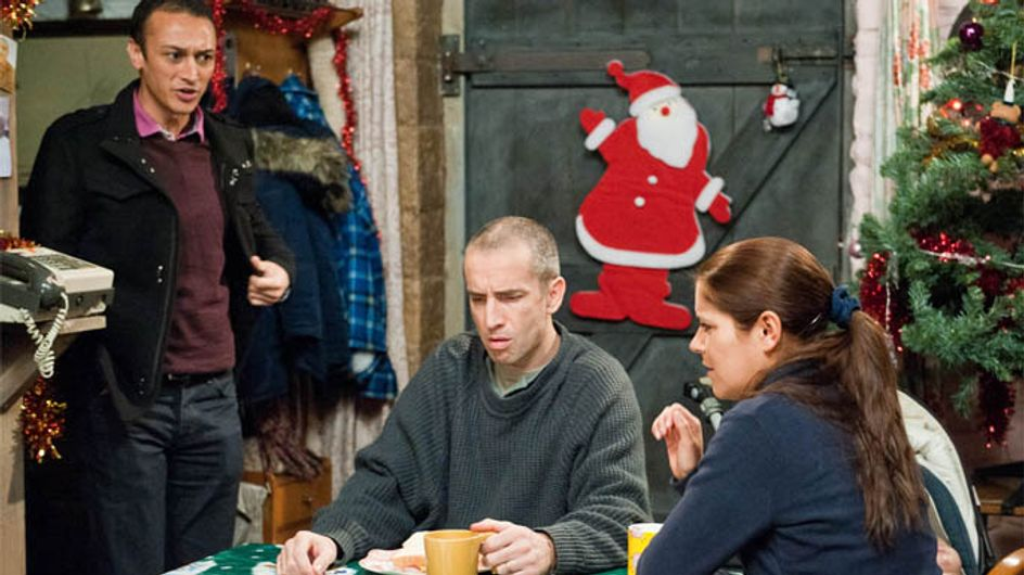 Emmerdale 01/01 – Charity and Declan realise that the police suspect Sam