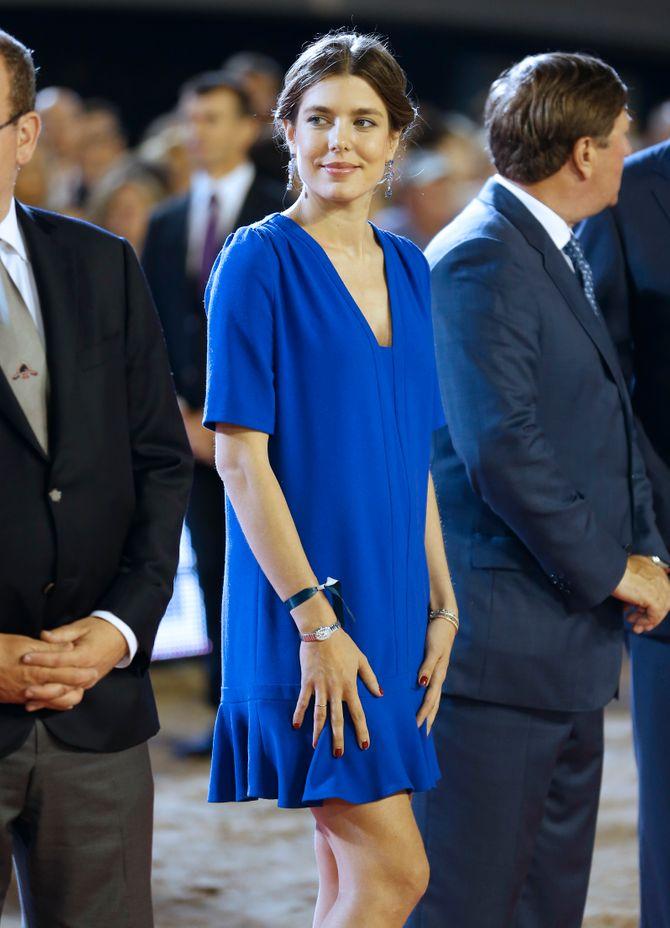 Charlotte Casiraghi pendant l'été 2013