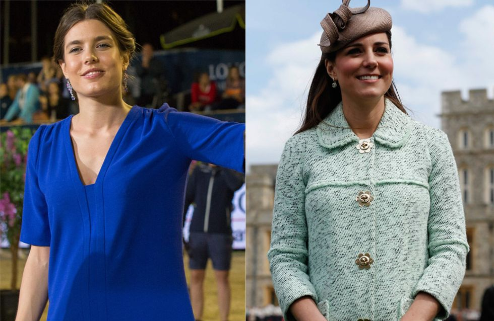 Kate Middleton et Charlotte Casiraghi : Des princesses stylées pendant leur grossesse