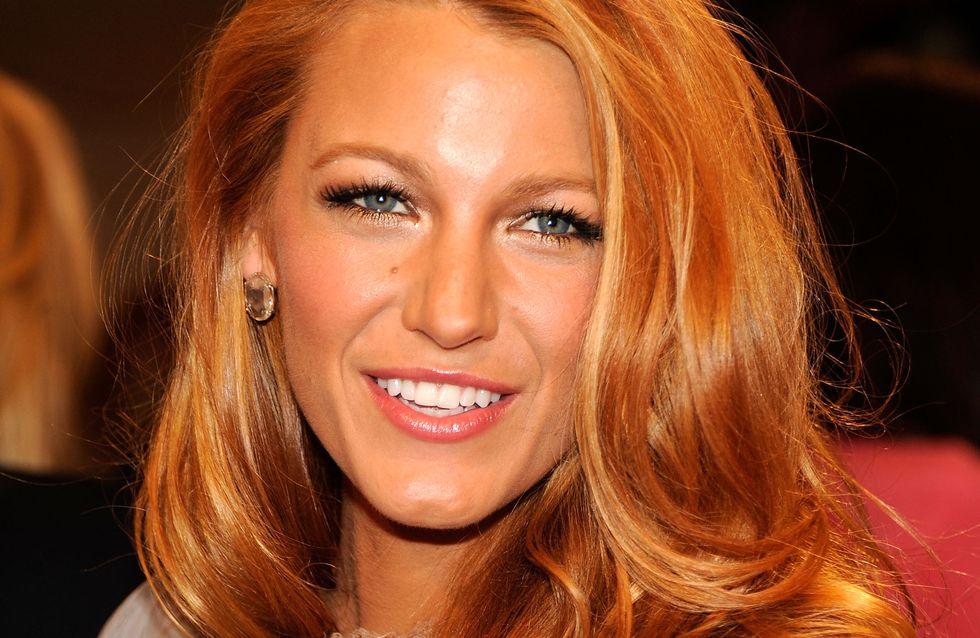 Blake Lively révèle ses astuces pour des cheveux soyeux