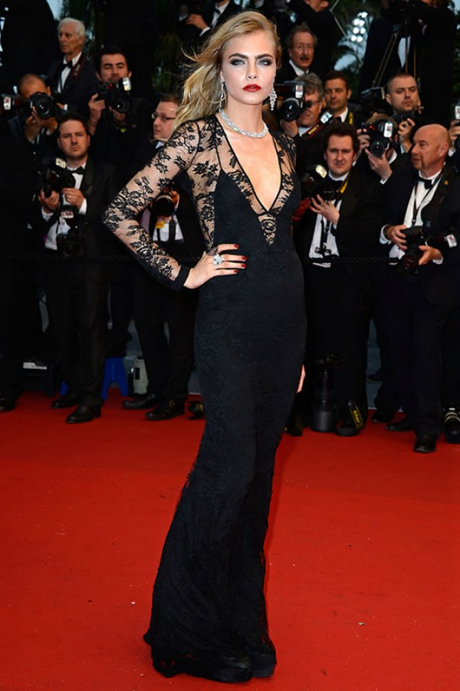 Cara Delevingne, mai 2013 - Festival de Cannes