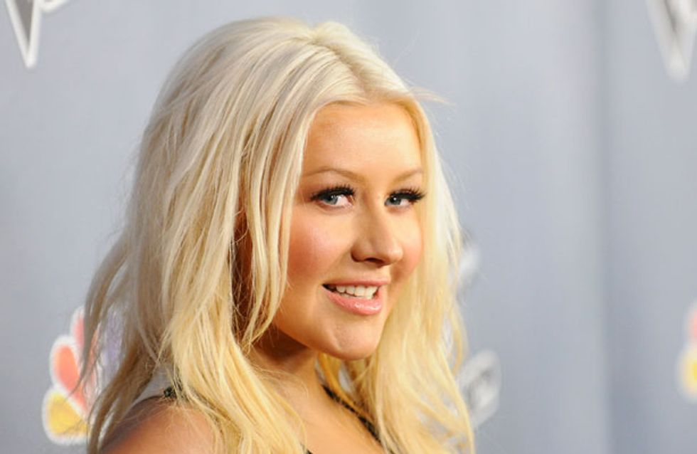 Check out Christina Aguilera's drastic weight loss. Is liposuction to blame?