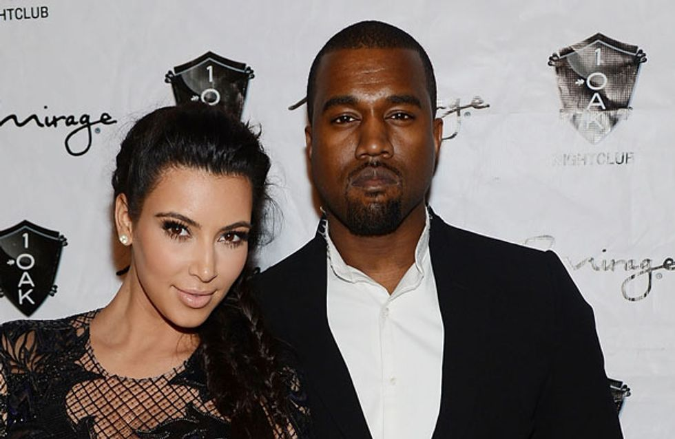 Is Kim Kardashian giving Kanye West naked photos for Christmas?