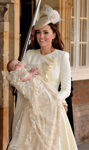 Kate Middleton au baptême de son fils