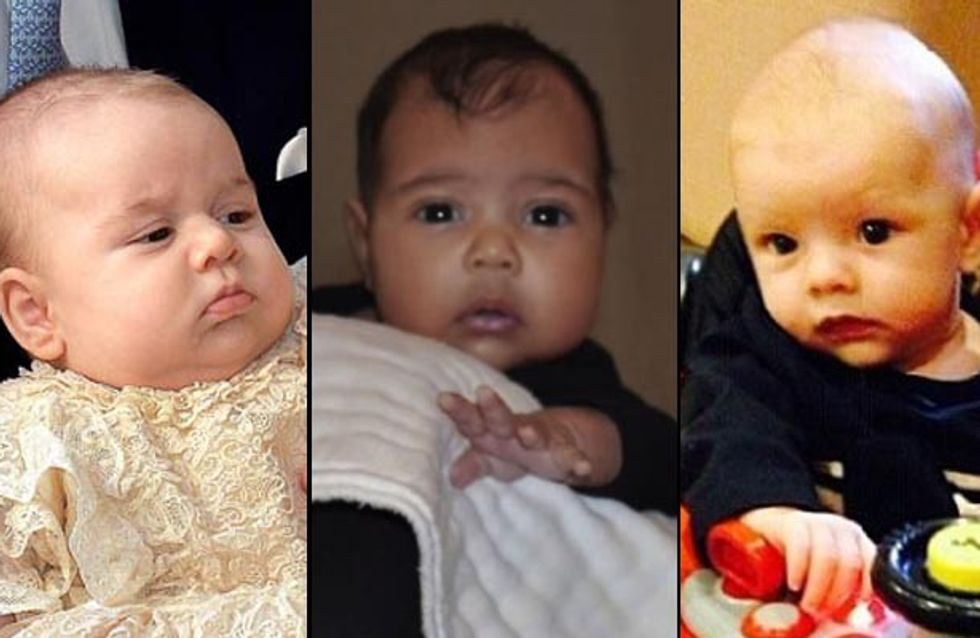 Best of 2013 : Les bébés de stars les plus mignons (photos)