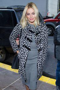 Margot Robbie lookée pour la première du Loup de Wall Street