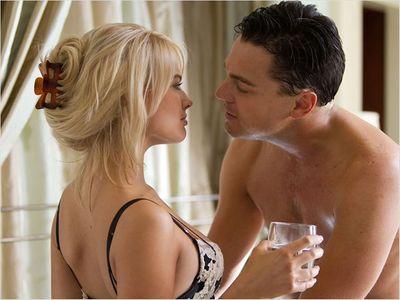 Leonardo DiCaprio et Margot Robbie