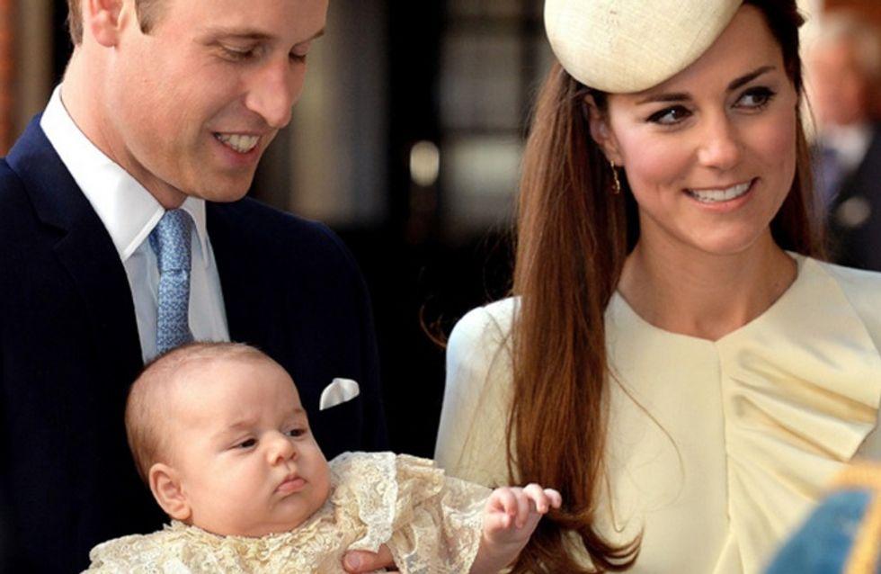 Kate Middleton : Le premier Noël du prince George (photos)