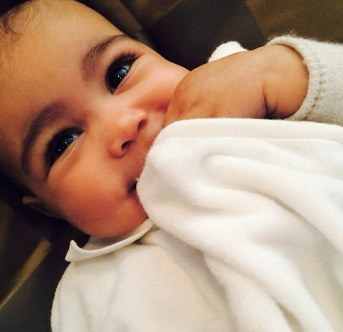 North West, la figlia di Kim Kardashian
