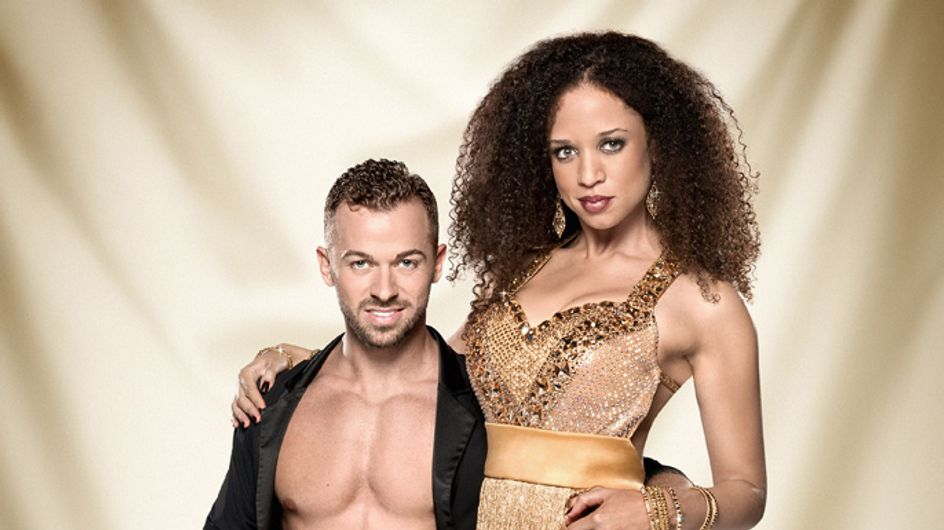 Natalie Gumede wants more material on her Strictly Come Dancing final 2013 costume