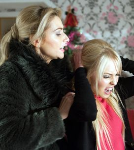 Hollyoaks 02/01 – Carmel and Theresa come to blows