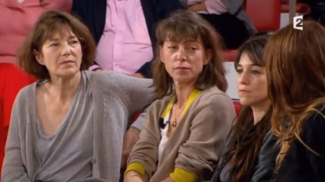 Jane Birkin, Kate Berry, Charlotte Gainsbourg et Lou Douillon