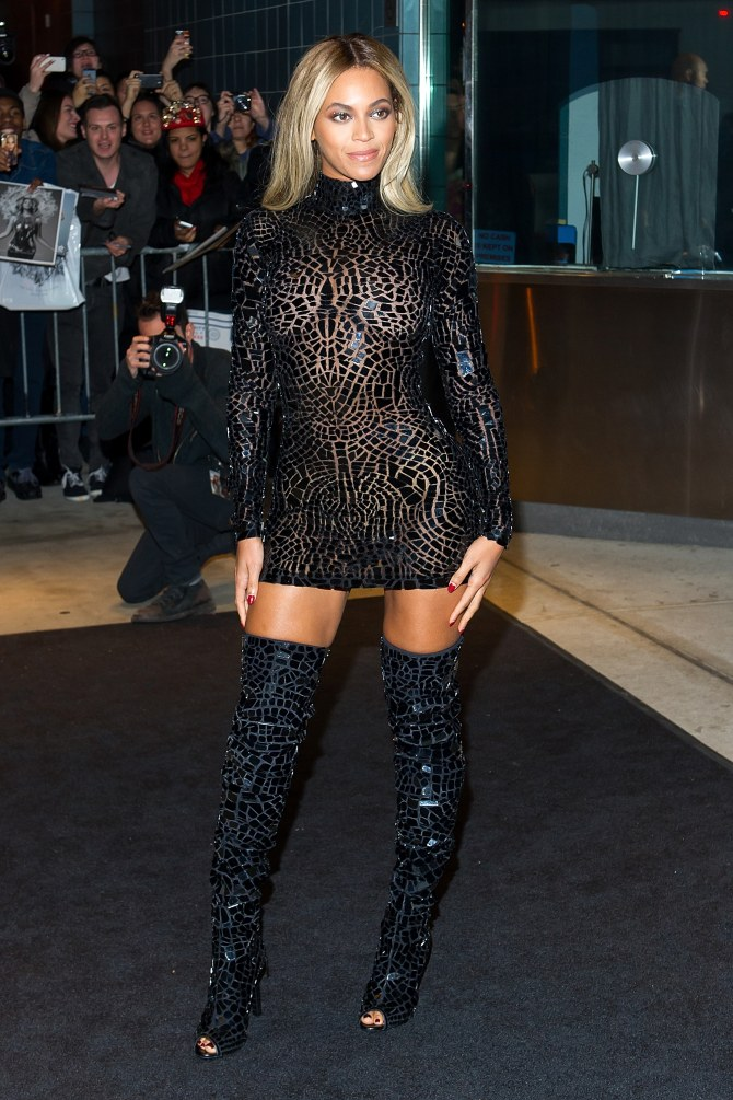 Beyoncé et son look sexy à New York