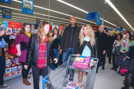 Beyoncé au supermarché