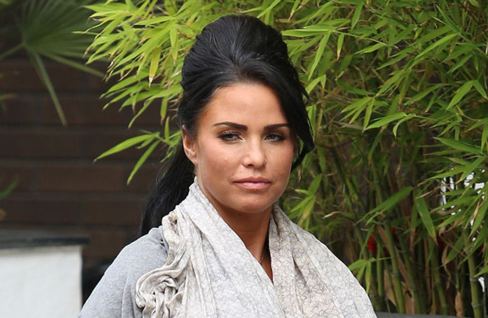 Katie Price has been rushed to hospital