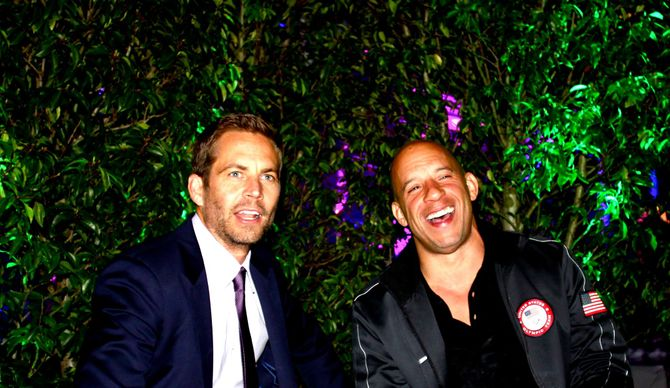 Paul Walker et Vin Diesel