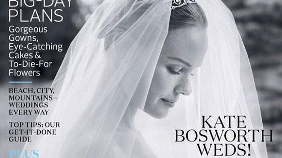 Kate Bosworth : Découvrez sa robe de mariée (Photos)
