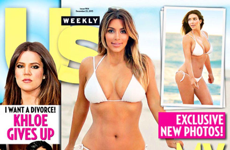 Kim Kardashian en Une d'un magazine fait baisser les ventes