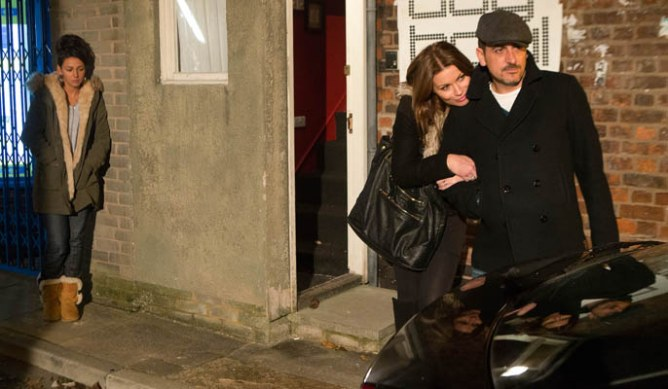 Peter refuses to leave Carla