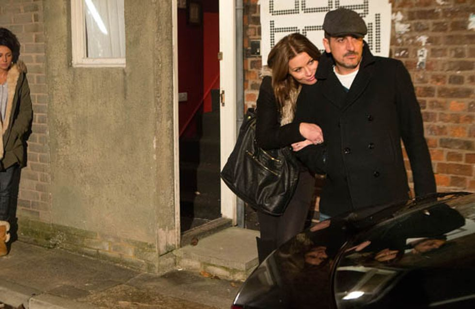 Coronation Street 08/01 – Tina realises she needs to make a clean break from Peter