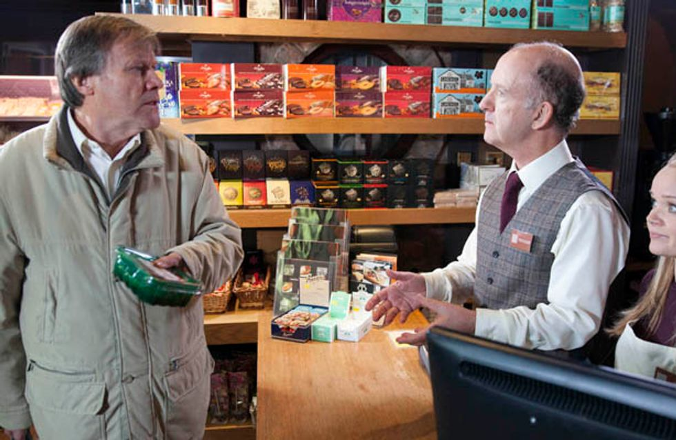 Coronation Street 10/01 –The pressure on Roy finally proves too much