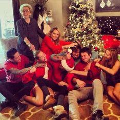 Kim Kardashian, Rihanna, Miley Cyrus et les autres : Les stars aussi ont fêté Noël (Photos)