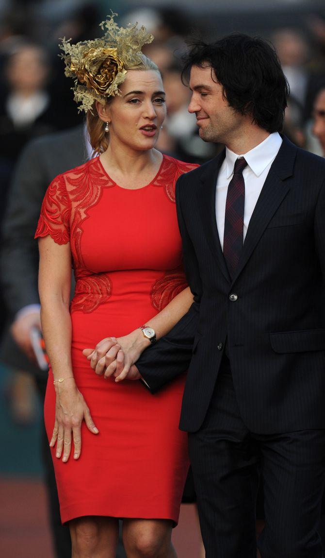 Kate Winslet mit Ehemann Ned Rocknroll