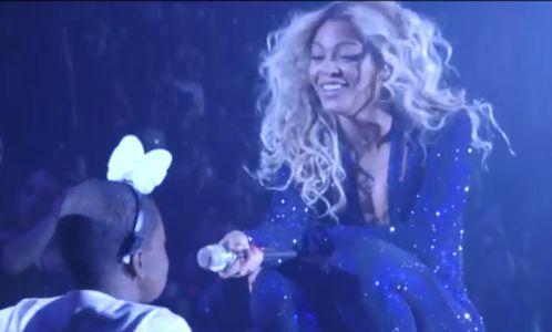 Beyoncé : Elle réalise le rêve d'une fan en plein concert