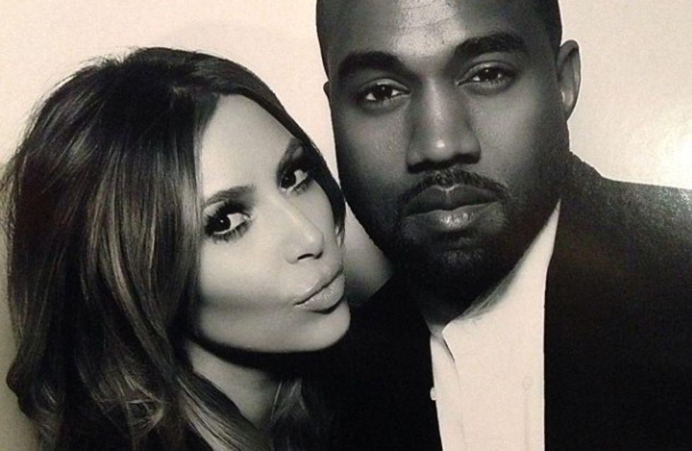 Kim Kardashian : Découvrez l'affreux cadeau de Noël de Kanye West (Photo)