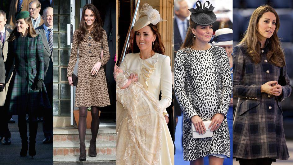 Kate Middleton : Accro aux robes-manteaux (Photos)