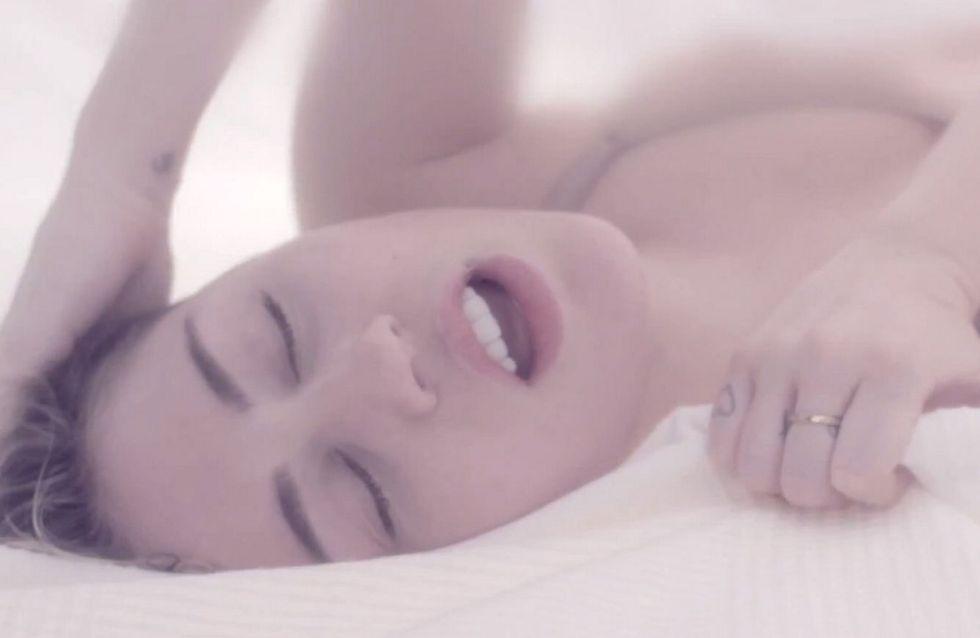 Miley Cyrus: autoerotismo in video