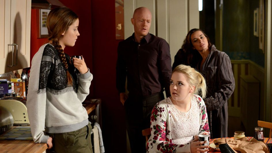 Eastenders 08/01 – Lauren is angry when she discovers Kirsty and Max spent the night together