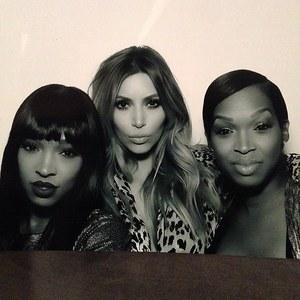 Kim Kardashian et ses amies