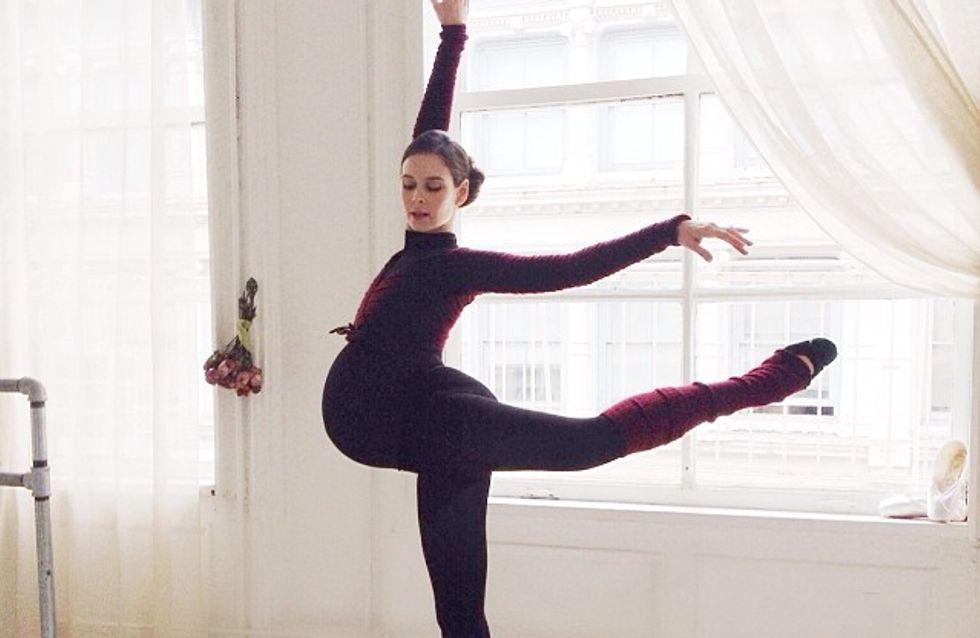 Foto/Incinta, continua danza classica