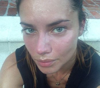Adriana Lima sans maquillage, ça donne ça ! (Photos)