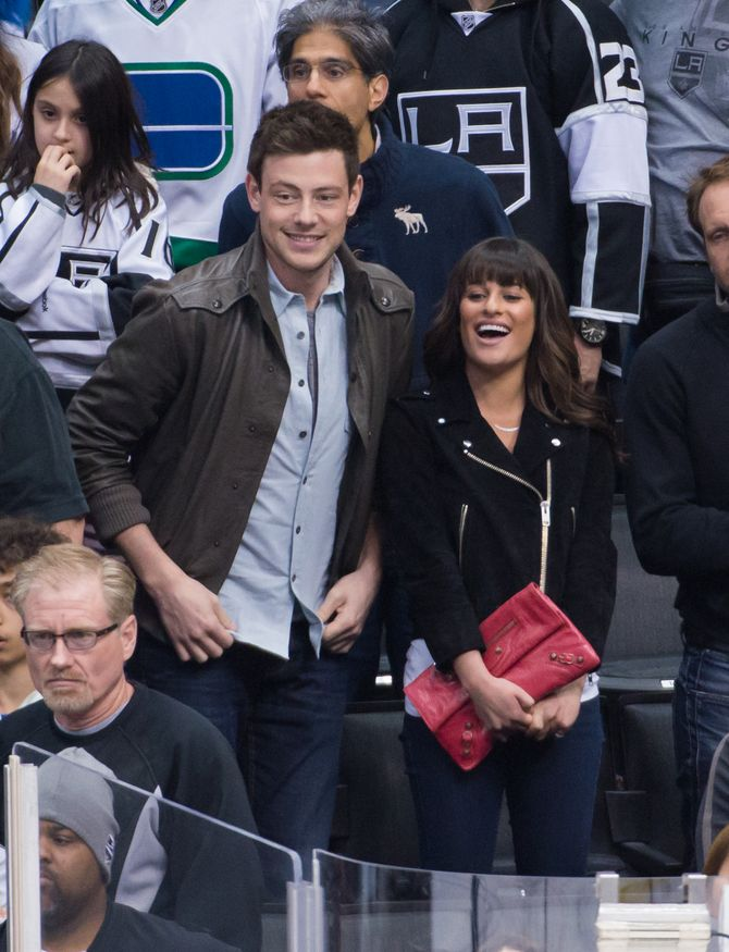 Lea Michele et Cory Monteigh