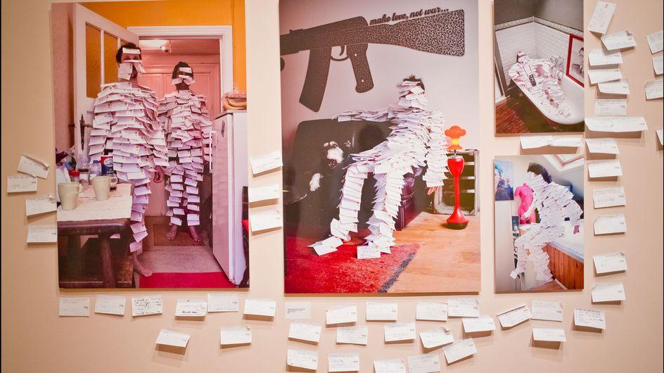 Art Truc Troc: Echange post-it contre oeuvre d'art