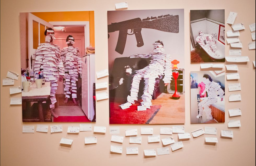 Art Truc Troc: Echange post-it contre oeuvre d'art
