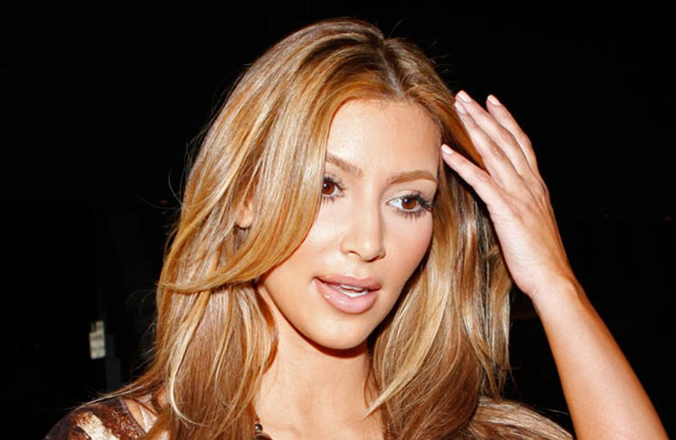 Ditching the blonde? Kim Kardashian's itching to go back to her brunette roots