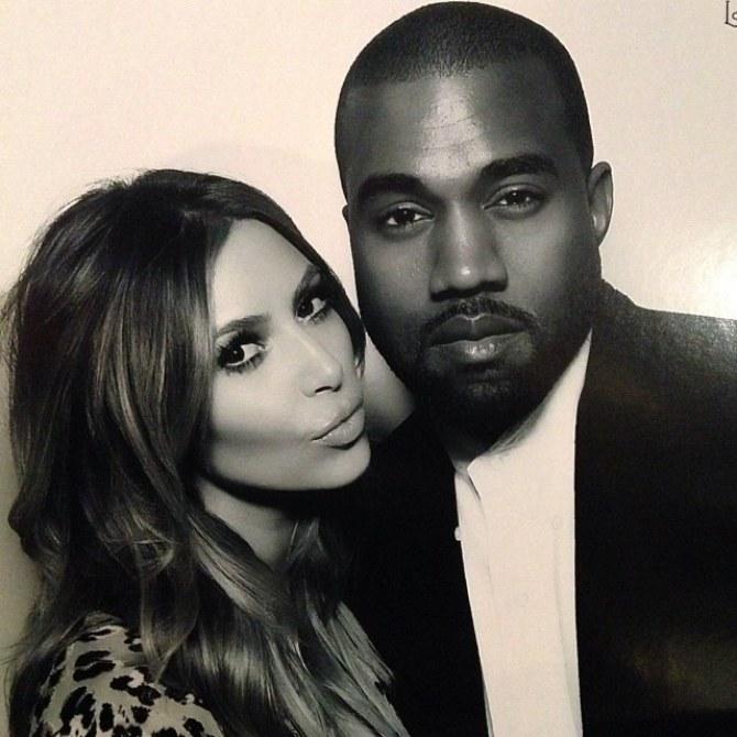 Kim Kardashian : Elle s'éclate en famille au ski