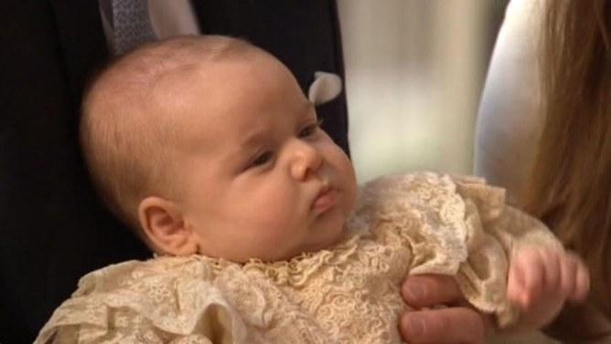Prince George : Celui qui l'a mis au monde honoré par la Reine