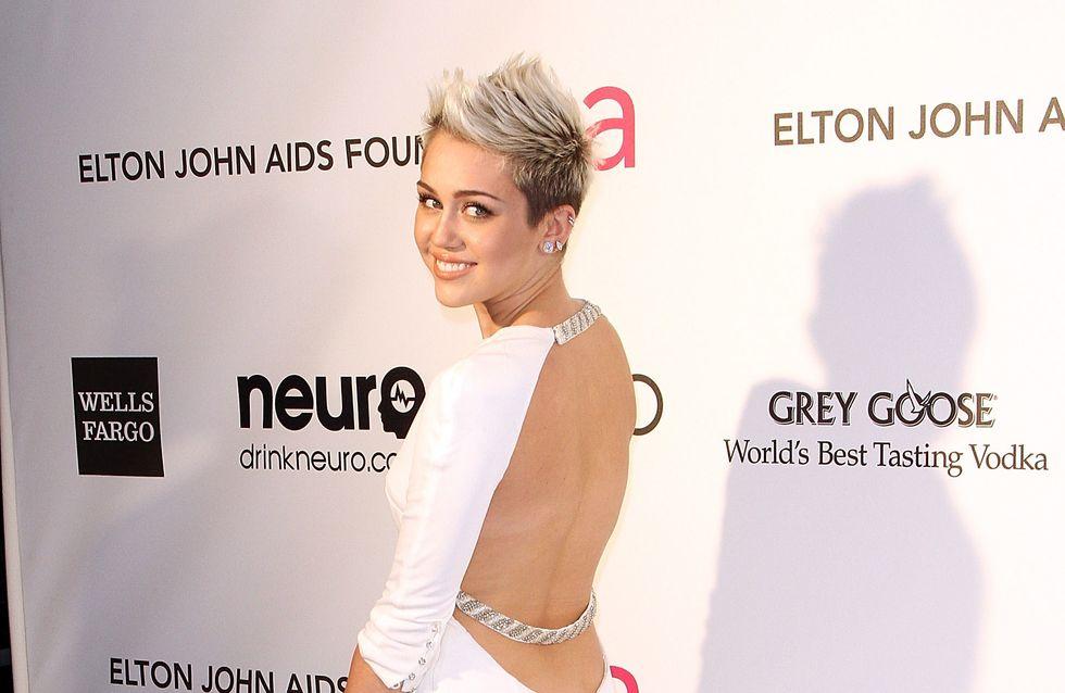 Miley Cyrus : Sa coupe Mohawk pour Love Magazine (Photo)