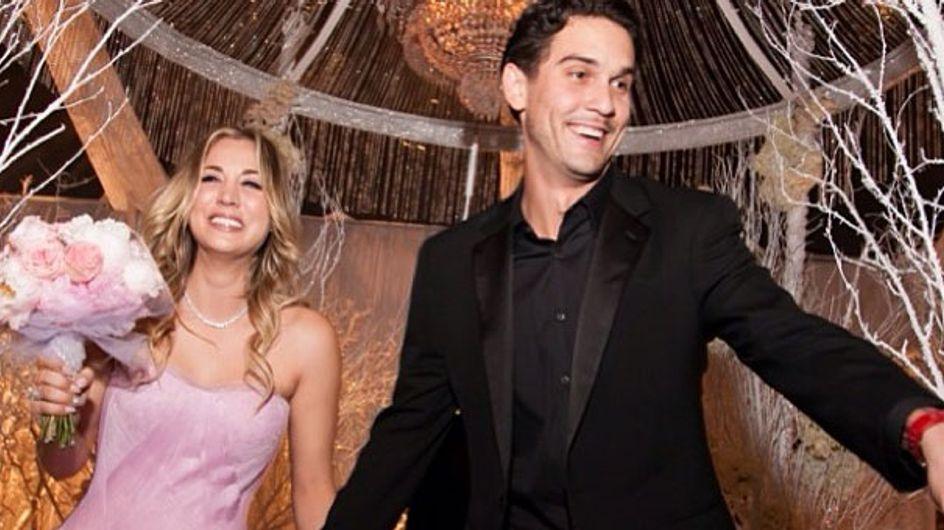 Blitz-Hochzeit an Silvester: Kaley Cuoco hat geheiratet!
