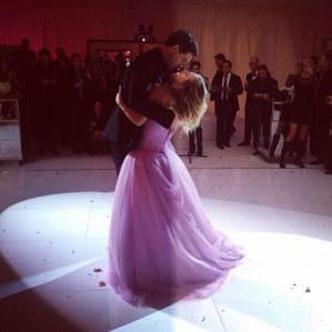 Kaley Cuoco & Ryan Sweeting auf ihrer Hochzeit